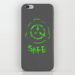 SCP foundation: Safe iPhone Skin