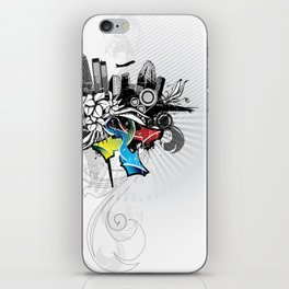 Abstract City iPhone Skin