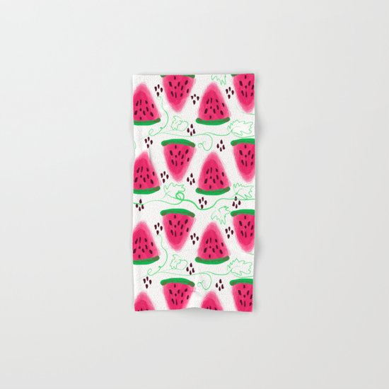 Watermelon pattern. Hand & Bath Towel