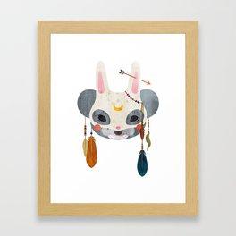koala masquerade Framed Art Print