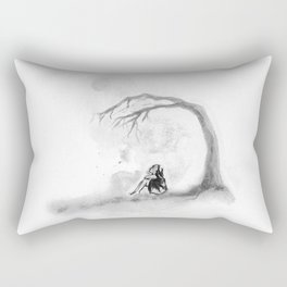Desert  Flower Rectangular Pillow