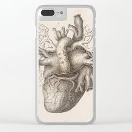 The Back Of The Heart Clear iPhone Case