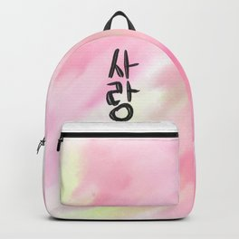 SARANG / love korean Backpack