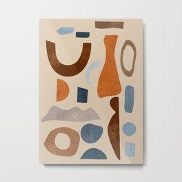 Abstract Shapes 39 Metal Print