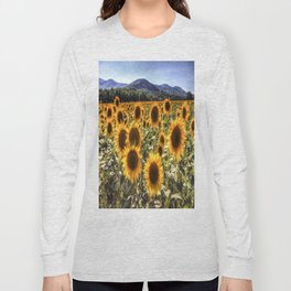 The Sunflower Summer Long Sleeve T-shirt