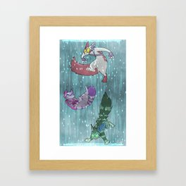 Fighting Dreamers- Thinking With Portals (V2) Framed Art Print