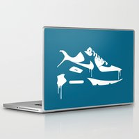 nike Laptop & iPad Skins featuring Nike air max 90' by GRIB'