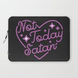 not today satan III Laptop Sleeve