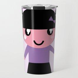 Emo girl edition purple Travel Mug