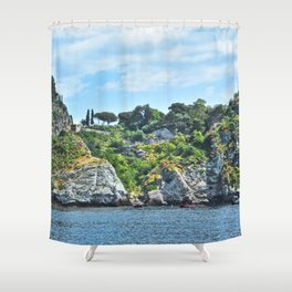 Taormina, Sicily II Shower Curtain
