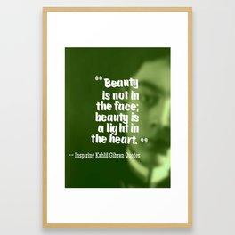 Most Inspiring Kahlil Gibran Quotes - 8 Framed Art Print