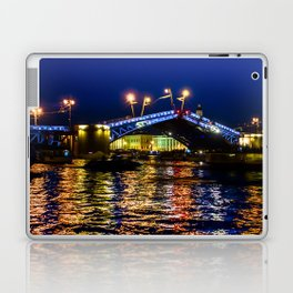 Raising bridges in St. Petersburg Laptop & iPad Skin
