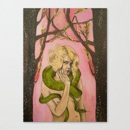 SnakeLady Canvas Print