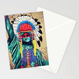 Lady LieBerty Stationery Cards
