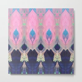 pink flame Metal Print