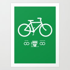 Infinity MPG (Society6 Edition) Art Print