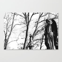 Guardians of the Graveyard Canvas Print