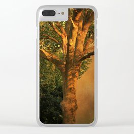 Tree Poem Clear iPhone Case