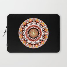 My Solar Plexus Mandhala | Secret Geometry | Energy Symbols Laptop Sleeve