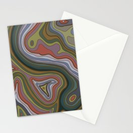 Topography Stationery Cards