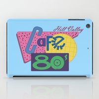 80s iPad Cases featuring Cafe 80s by Loku