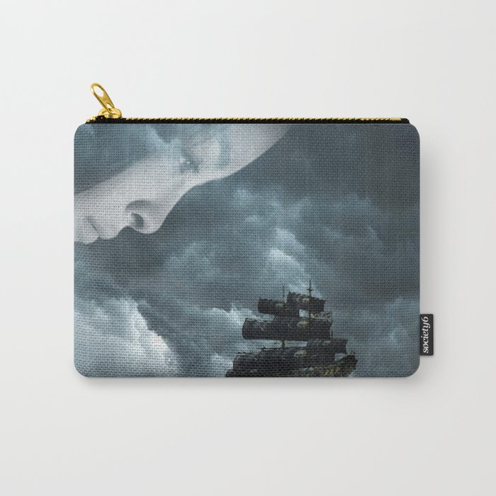 Pirate boat Carry-All Pouch
