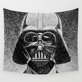 Darth Vader portrait #2 Wall Tapestry