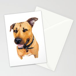 Kelpie drawing Stationery Cards