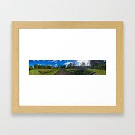 Kilkenny Castle Panorama Framed Art Print