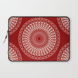 Christmas mandala Laptop Sleeve