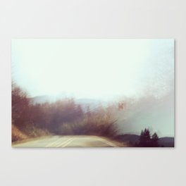 The Road the Road Again Canvas Print