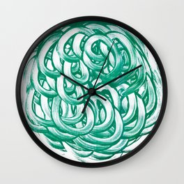 Mute 7 Wall Clock