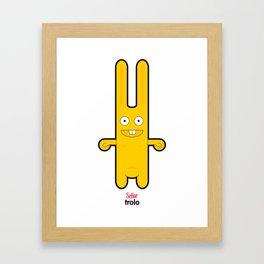 Sr Trolo Framed Art Print