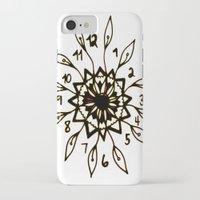 clockwork iPhone & iPod Cases featuring Clockwork by Isa Gutierrez