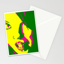 Girls Of MySpace (Miss Black Velvets) Stationery Cards