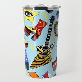 Glam Rock Starter Pack Print Travel Mug