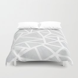 Ab Marble Zoom Duvet Cover