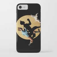 tintin iPhone & iPod Cases featuring tin tin advanture by aleha