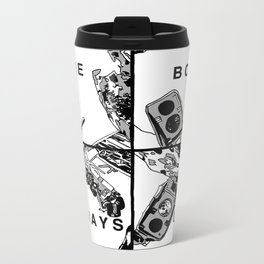 The Body Betrays Us Metal Travel Mug