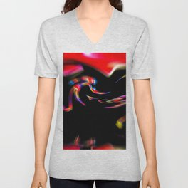 Abstract Perfection 39 Unisex V-Neck
