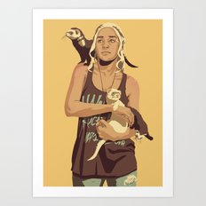 80/90s - Dae T. Art Print