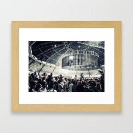 club Framed Art Print