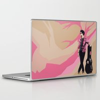 darren criss Laptop & iPad Skins featuring Darren by Miki Price