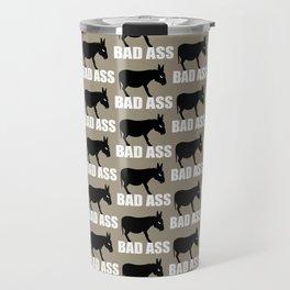 Angry Animals: Bad Ass Donkey Travel Mug