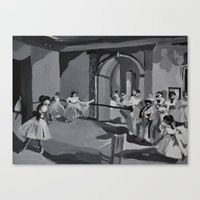 degas Canvas Prints featuring Degas Master Study by Mallory Pearson