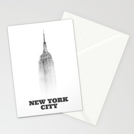 NYC Empire state (designer) Stationery Cards