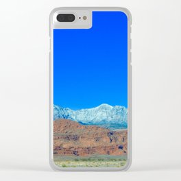 For the Love of Utah Clear iPhone Case