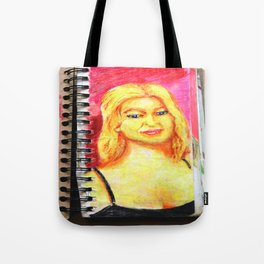 Euro Blonde from A Sketchbook Tote Bag
