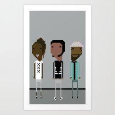 Long Live Asap Tour Art Print