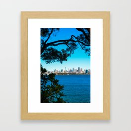 Sydney Skyline Framed Art Print